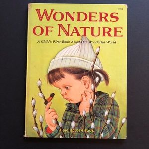 5/$25 VTG Eloise Wilkin Wonders Of Nature Book 50s